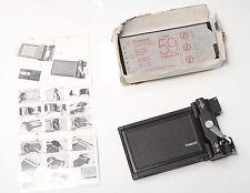"Polaroid 4x5"" Type 59, 9 Film-Bögen (exp. 01/97) + Polaroid Holder Model 545"