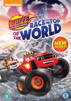 Blaze and the Monster Machines: Race to the Top of the World DVD (2017) Ellen