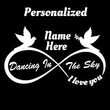 Personalized Decal - Add First and Last Name as desired Dancing in the Sky sarge