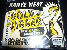 Kanye West Feat Jamie Foxx Gold Digger Australian CD Single - Like New