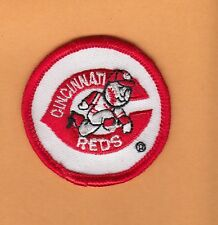 OLD 1980s CINCINNATI REDS LOGO 2 inch PATCH ORIGINAL Unused Stock IRON ON