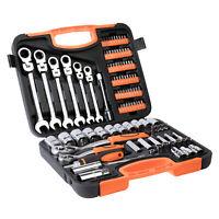 104 tlg. Werkzeugkoffer Werkzeugbox Werkzeugkiste Werkzeugkasten Knarrenkasten