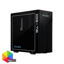 EVGA DG-76 Matte Black, Tempered Glass, RGB LED, 160-B0-2230-KR