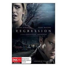 Regression DVD Brand New Region 4 Aust. - Ethan Hawke, Emma Watson