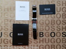 HUGO BOSS LADIES WOMANS GIA DESIGNER DIAMOND DIAL COSMOPOLIS SWISS MADE WATCH