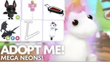 Roblox Adopt me, Neons, Mega Pets,Vehicles,Toys (Sale)