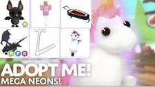 Roblox Adopt me, Neons, Mega Pets,Vehicles,Toys (Sale)
