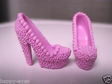 BARBIE DOLL CLOTHES/SHOES *MATTEL HIGH HEELS   *NEW*  #811