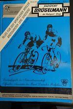 BRÜGELMANN catalog 1985, vintage, collector, Campagnolo, Cinelli, Colnago Gios