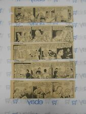 Lot of 5 Gasoline Alley by King Comic Strips July 9th-14th, 1945