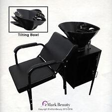 Tilting  Shampoo Bowl Sink Floor Cabinet Shampoo Chair TLC-B36-Tilt-FC-216