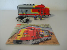 (GO) LEGO 10020 Santa Fe Super Chief Eisenbahn 9 Volt Mit BA 100% KOMPLETT