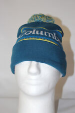 Columbia Womens Femmes Taille Unique CSC Logo Pom Pom Beanie  Phoenix Blue OSFA