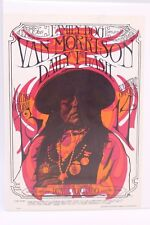 THE FAMILY DOG FDD-6 DENVER 1967 VAN MORRISON, DAILY FLASH POSTCARD
