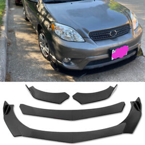 For Toyota RAV4 Carbon Fiber Look Front Bumper Lip Splitter Spoiler Body Kit JQ
