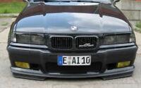 Side flaps for BMW E36 M3 bumper GT front M Sport Spoiler Splitter Splitters set