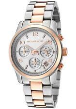 Michael Kors Silver Strap Round Wristwatches