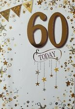 60 TODAY - 60th BIRTHDAY CARD