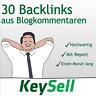 30 Backlinks aus deutschen Blogs   Seo Optimierung   Backlinkaufbau   per Hand