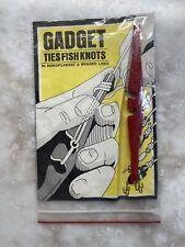 New listing 2 Gadget ties fish knots 1971-74