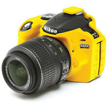 easyCover Nikon D3200 Camera Case Yellow EA-ECND3200Y Silicone FREE US SHIPPING