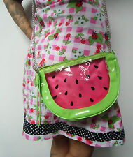 Sac à main pochette originale kawaii harajuku pasteque transparent pinup mode