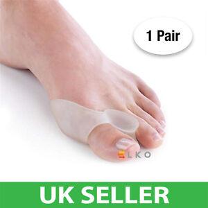 Hallux Gel Bunion Protector Toe Corrector Straightener Alignment Separator Foot