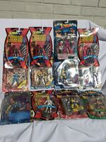 Toy Biz X-men Figures Lot of 12 figures New in Package Mutant Genesis Robot 2099