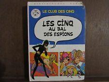 Enid Blyton: Les cinq au bal des espions / Bibliothèque Rose Hachette