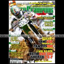 MOTO CRAMPONS N°283 KTM 1756 GS 6 YAMAHA 250 WRF YZF E KAWASAKI KLX POURCEL 2009