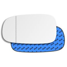 Left wing car mirror glass aspheric for Saab 9-3 2002-2010 153LAS