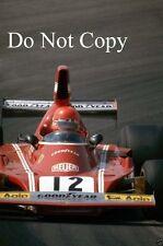 Niki Lauda Ferrari 312 B3 Spanish Grand Prix 1974 Photograph
