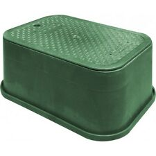 HR Products COMMERCIAL SQUAT RECTANGULAR VALVE BOX 420x305x160mm Green*AUS Brand