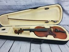 Fever Acoustic Electric Violin 4/4 Full Size with Case and Bow