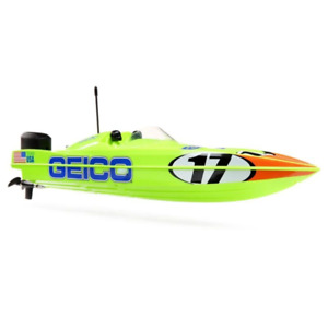 ProBoat Racer Deep-V 17in Miss Geico RC Boat Brand New