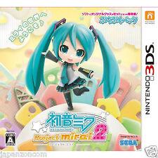 Used Nintendo 3DS Hatsune Miku Project mirai 2  NINTENDO 3DS JAPANESE  IMPORT