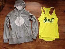 Nomis Long Fit Hoodie Sz L And Oakley Tank Top Sz Xl
