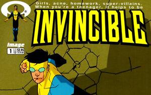 INVINCIBLE #1 CGC 9.8