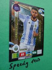 PANINI ROAD TO RUSSIA 2018 fifa world cup Limited Edition Aguero ADRENALYN