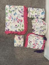 Carousel Designs Nursery Bedding Comforter, Changing Pad, Baird Rail, Bed Skirt