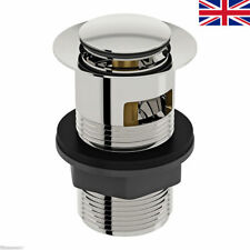 Slotted Clicker Basin Waste Push Pop Up Plug - High Quality Click Clack Standard