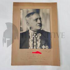 LUCIO d'AMBRA foto Dedica Autografo originale LUXARDO - Futurismo ROMA 1937 - XV
