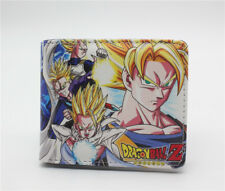 New Dragon Ball Z Goku Super Saiyan Unisex Wallet Short Purse Gift
