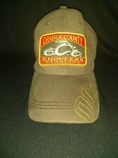 Orange County Choppers New York OCC Ball Cap Brown One Size