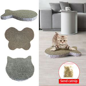 Pet Cat Cardboard Scratcher Scratching Bed Mat Toys & Pad Scraper Sofa Board
