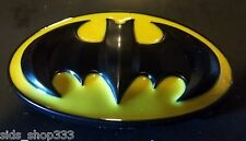 Classic Logo Batman belt buckle (full metal hi gloss) DC ,great gift collectible