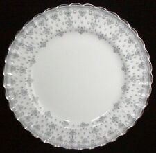 Spode Fine Bone China Fleur De Lys-Grey Salad Plate