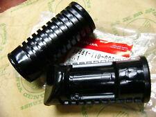 HONDA CB 450 K Black Bomber repose pied en caoutchouc Set Rubber Step Set Original