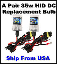 9004 Hi/Lo Beam 3000/6000/8000/10000/12000k-DC Xenon HID Replacement Bulbs-35w