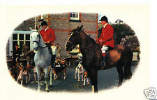 Unknown Location Postcard - Fox Hunting Scene  A4250